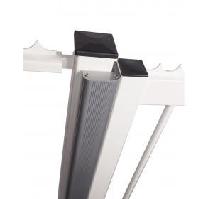 Алюминиевый профиль для эстетичной отделки распашных ворот – используется с магнитным замком MAGUNIT