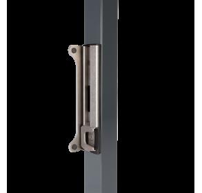 Врезная ответная планка прикручиваемая повышенной безопасности из нержавеющей стали для замка FortyLock, Fiftylock и Sixtylock