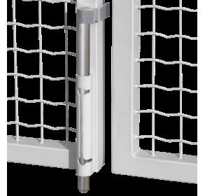 Вертикальный засов внешний с алюминиевым стержнем